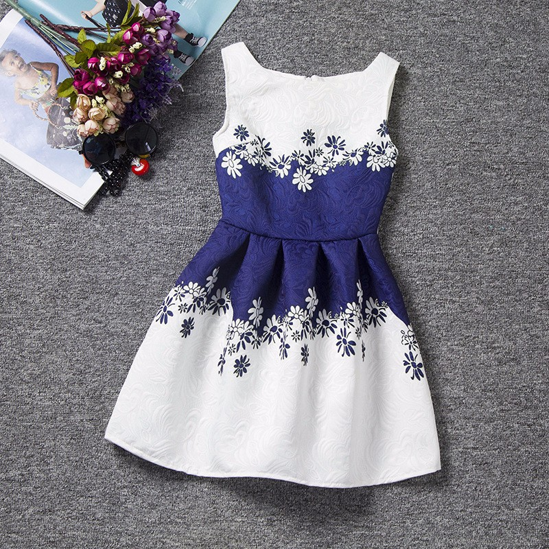robe enfant fleurs